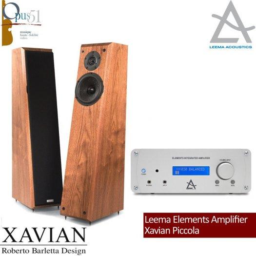 Opus 50 : Leema Elements Amp. + Xavian Piccola