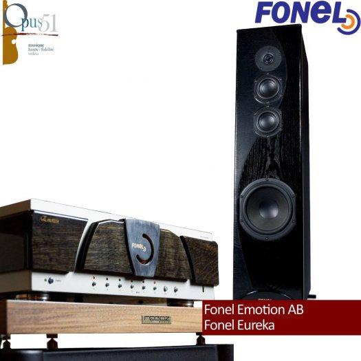 Opus 97 : Fonel Eureka + Emotion Class A