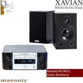 Opus 11 : Marantz M-CR611 + Xavian Bonbonus