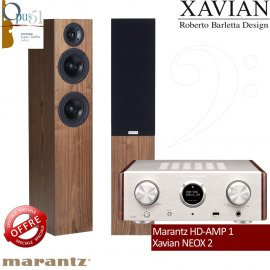 Opus 34 : Marantz HD-AMP1 + Xavian Neox2