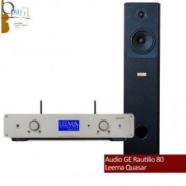 Opus 58 : Leema Quasar. + Audio GE Rautilio 80