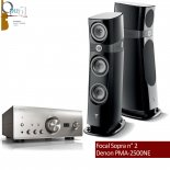 Opus 95 : Denon PMA-2500NE + Focal Sopra n° 2