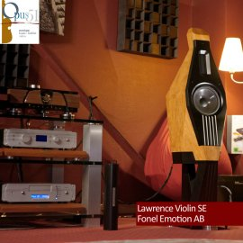 Opus 98 : Lawrence Violin SE + Fonel Emotion AB